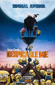 Despicable Me (2010) Hollywood Movie Animation movie for Kids Release on Friday, July 09, 2010 Despicable Me movie trailer