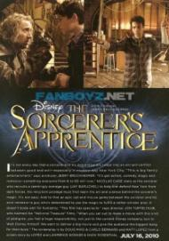 The Sorcerers Apprentice (2010) Hollywood Movie Release on Friday, July 16, 2010 Watch The Sorcerers Apprentice movie trailer